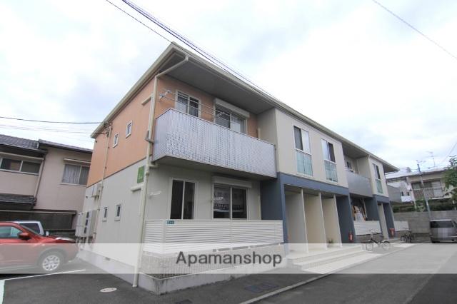 愛媛県松山市、警察署前駅徒歩6分の築10年 2階建の賃貸アパート