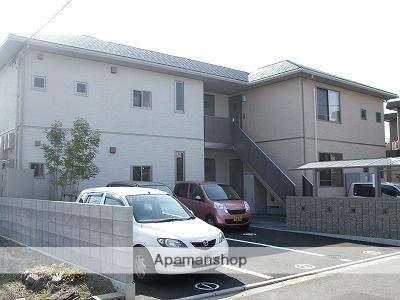愛媛県東温市、牛渕団地前駅徒歩1分の築6年 2階建の賃貸アパート