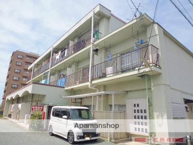 愛媛県松山市、いよ立花駅徒歩26分の築35年 3階建の賃貸マンション