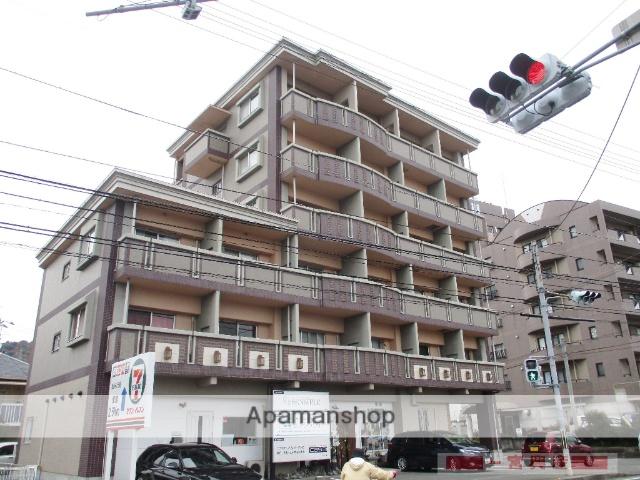 愛媛県松山市、鷹ノ子駅徒歩1分の築14年 6階建の賃貸マンション
