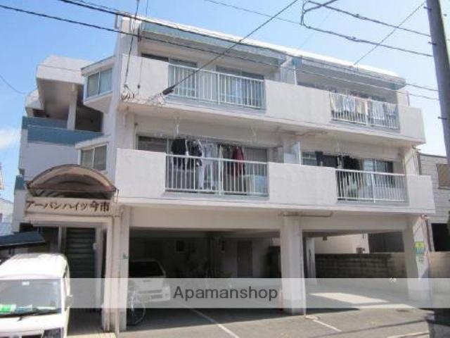 愛媛県松山市、平和通1丁目駅徒歩8分の築29年 3階建の賃貸マンション
