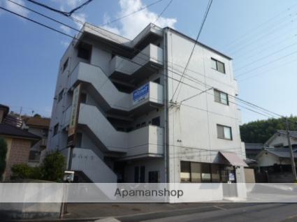愛媛県松山市、北久米駅徒歩9分の築27年 4階建の賃貸マンション