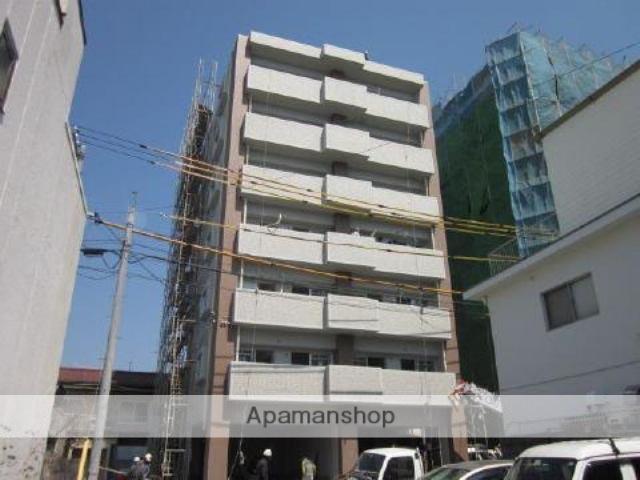 愛媛県松山市、松山市駅徒歩10分の築4年 7階建の賃貸マンション