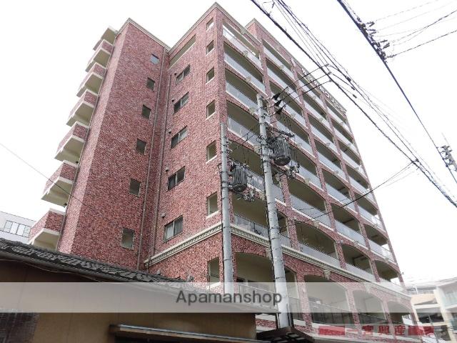 愛媛県松山市、古町駅徒歩6分の築3年 9階建の賃貸マンション
