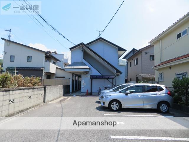 愛媛県松山市、松山駅徒歩24分の築18年 2階建の賃貸アパート