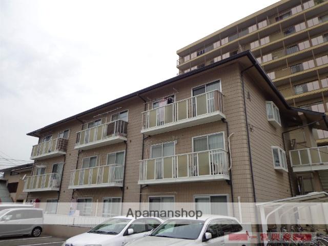 愛媛県松山市、南町駅徒歩4分の築28年 3階建の賃貸アパート
