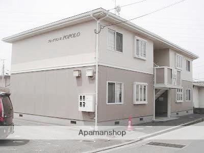 愛媛県松山市の築26年 2階建の賃貸アパート
