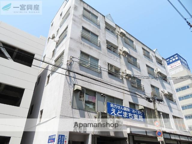 愛媛県松山市、松山駅徒歩6分の築36年 6階建の賃貸マンション