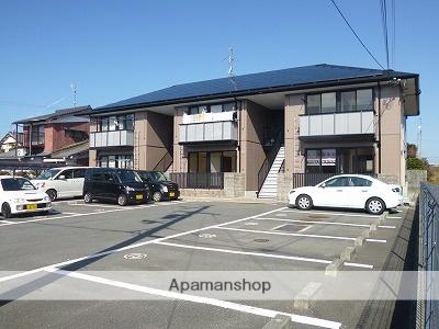 愛媛県伊予郡松前町、岡田駅徒歩15分の築17年 2階建の賃貸アパート