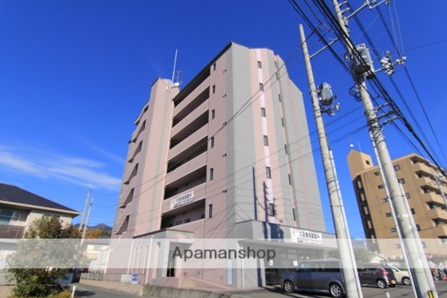 愛媛県東温市、愛大医学部南口駅徒歩14分の築15年 7階建の賃貸マンション