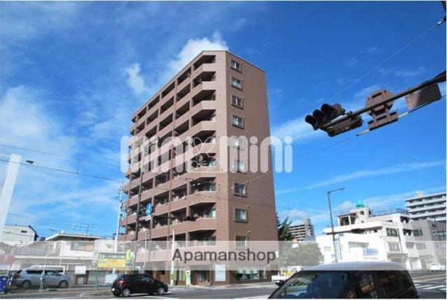 愛媛県松山市、本町5丁目駅徒歩1分の築10年 10階建の賃貸マンション