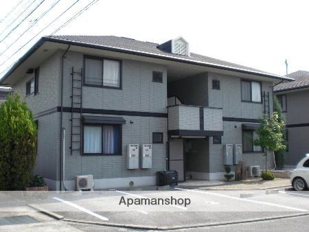 愛媛県松山市、道後公園駅徒歩20分の築17年 2階建の賃貸アパート