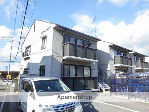 愛媛県東温市、梅本駅徒歩11分の築21年 2階建の賃貸アパート