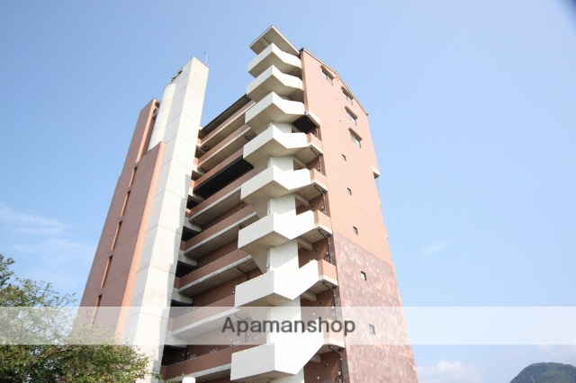 愛媛県東温市の築16年 10階建の賃貸マンション