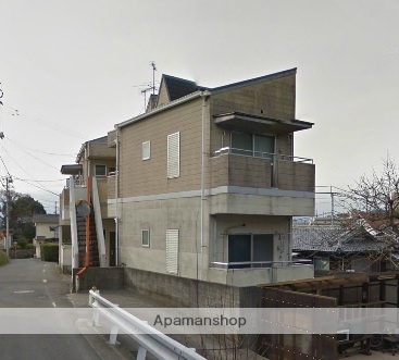 愛媛県松山市、平和通1丁目駅徒歩19分の築28年 2階建の賃貸アパート