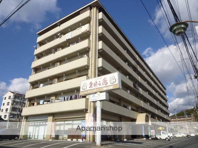 愛媛県松山市、北久米駅徒歩10分の築27年 7階建の賃貸マンション
