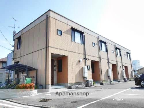 愛媛県東温市、見奈良駅徒歩8分の築14年 2階建の賃貸テラスハウス
