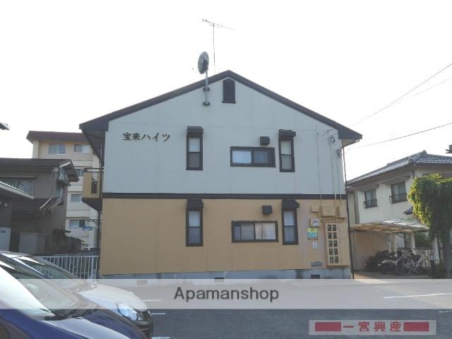 愛媛県松山市の築25年 2階建の賃貸アパート