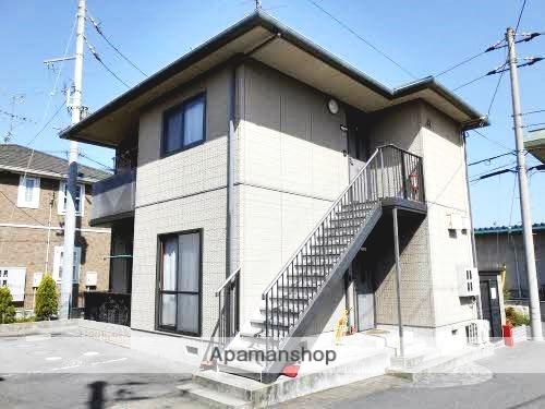 愛媛県松山市の築17年 2階建の賃貸アパート