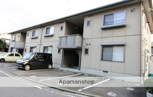 愛媛県松山市、平井駅徒歩18分の築14年 2階建の賃貸アパート
