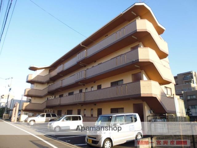 愛媛県松山市、石手川公園駅徒歩15分の築23年 4階建の賃貸マンション