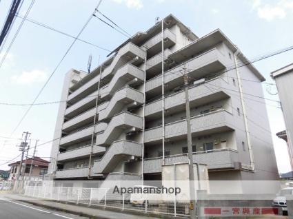 愛媛県松山市の築27年 7階建の賃貸マンション