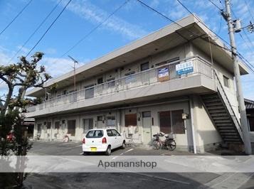 愛媛県松山市、北久米駅徒歩43分の築40年 2階建の賃貸アパート