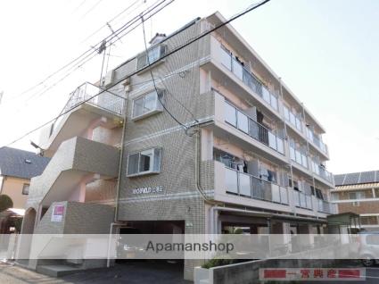 愛媛県松山市、土橋駅徒歩15分の築28年 4階建の賃貸マンション