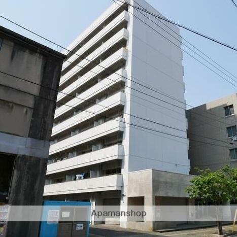 愛媛県松山市、松山駅徒歩7分の築32年 9階建の賃貸マンション