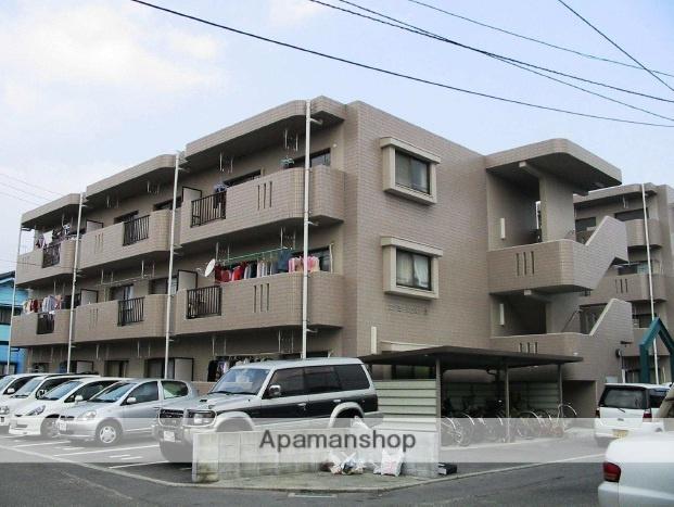 愛媛県松山市、松山駅徒歩15分の築19年 3階建の賃貸マンション