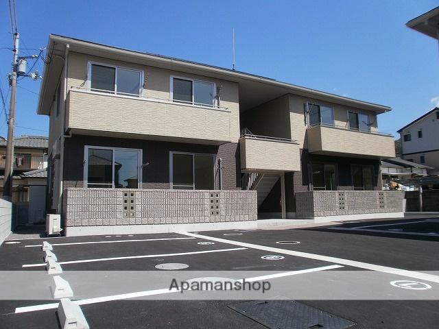 愛媛県松山市の築6年 2階建の賃貸アパート