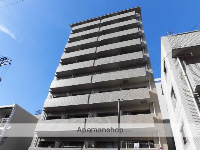 愛媛県松山市、大手町駅徒歩7分の築16年 10階建の賃貸マンション