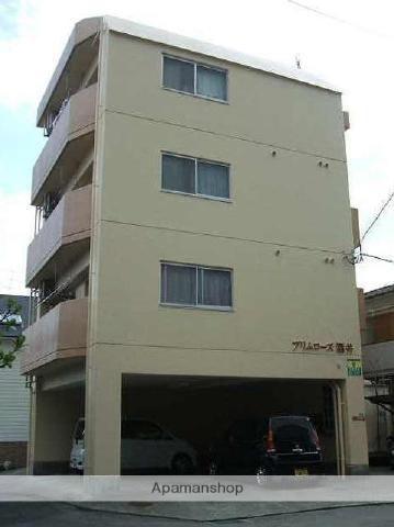 愛媛県松山市、土橋駅徒歩7分の築21年 4階建の賃貸マンション