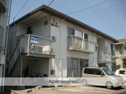 愛媛県松山市、三津浜駅徒歩29分の築30年 2階建の賃貸アパート