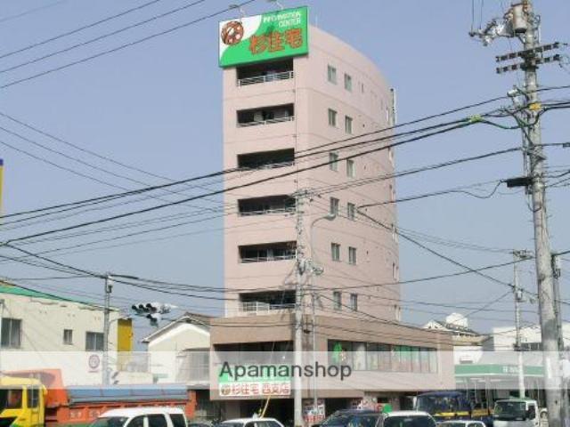 愛媛県松山市、衣山駅徒歩9分の築15年 8階建の賃貸マンション