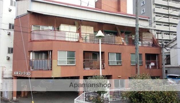 愛媛県松山市、松山市駅徒歩8分の築50年 4階建の賃貸マンション