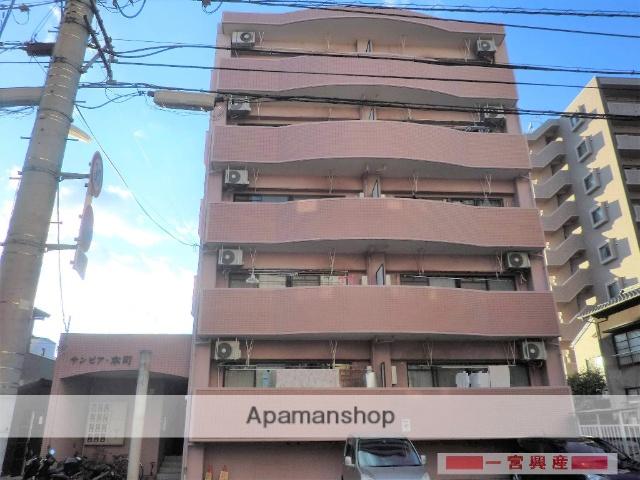 愛媛県松山市、西堀端駅徒歩4分の築23年 5階建の賃貸マンション