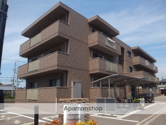 愛媛県松山市、市坪駅徒歩20分の築7年 3階建の賃貸マンション