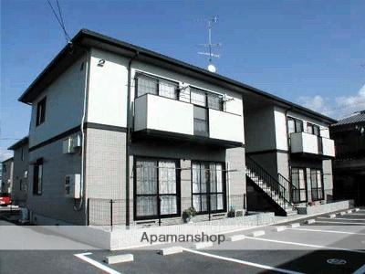 愛媛県松山市、伊予北条駅徒歩17分の築18年 2階建の賃貸アパート
