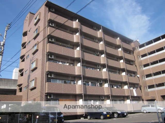 愛媛県松山市、衣山駅徒歩8分の築17年 6階建の賃貸マンション