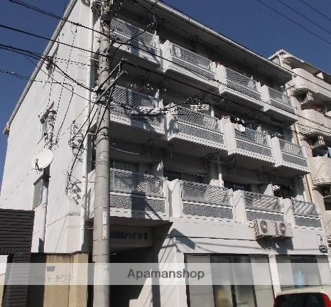愛媛県松山市、木屋町駅徒歩9分の築27年 4階建の賃貸マンション