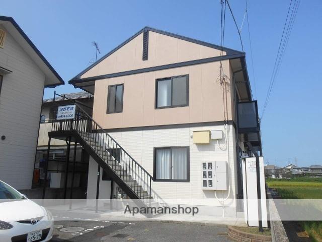 愛媛県伊予郡松前町、鎌田駅徒歩18分の築20年 2階建の賃貸アパート