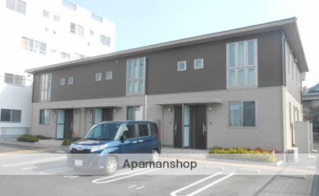 愛媛県松山市、市坪駅徒歩3分の新築 2階建の賃貸アパート