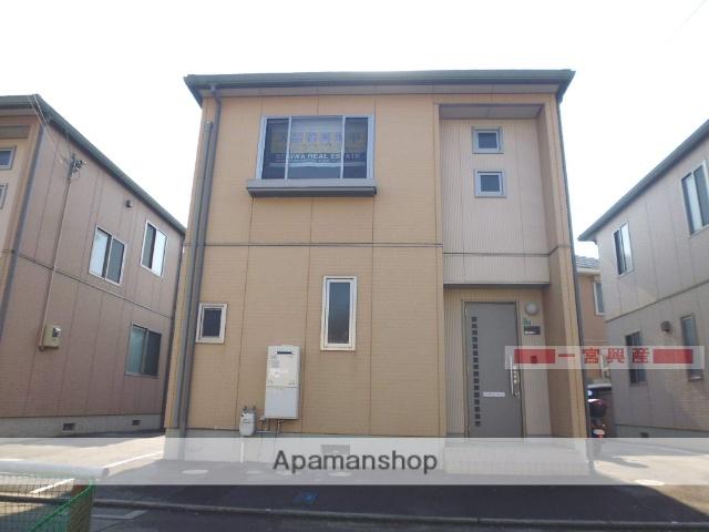 愛媛県松山市、石手川公園駅徒歩9分の築11年 2階建の賃貸一戸建て