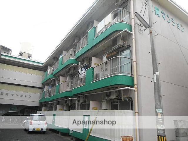 愛媛県松山市、平和通1丁目駅徒歩7分の築34年 3階建の賃貸マンション