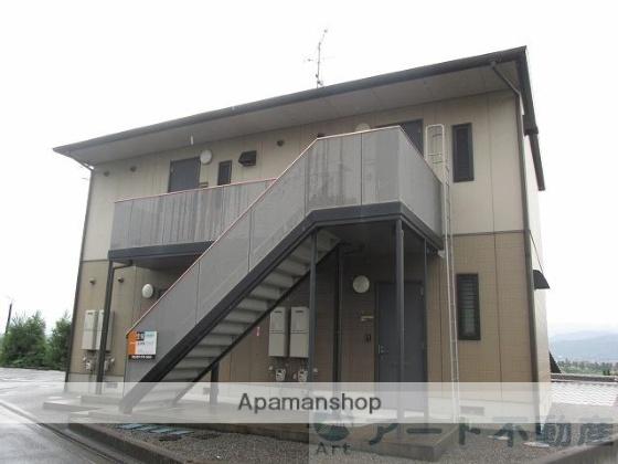 愛媛県東温市、牛渕団地前駅徒歩12分の築18年 2階建の賃貸アパート