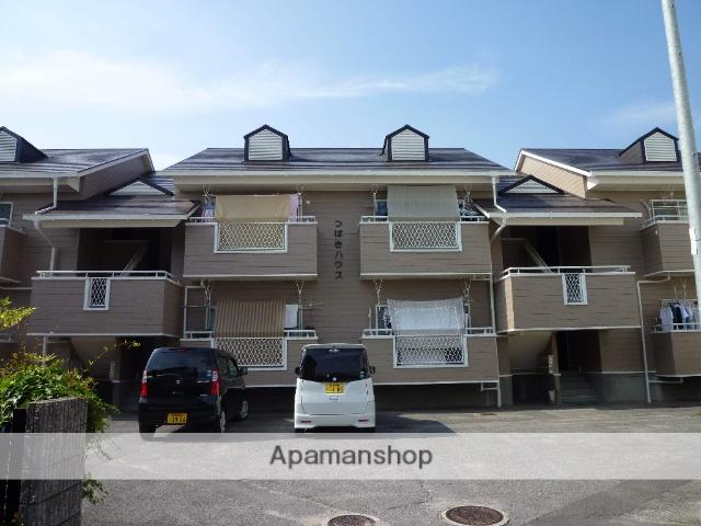 愛媛県松山市、市坪駅徒歩15分の築25年 2階建の賃貸アパート