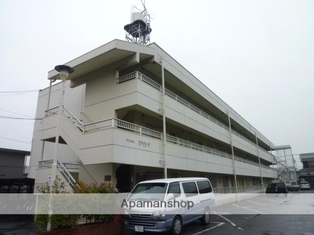 愛媛県松山市、市坪駅徒歩20分の築30年 3階建の賃貸マンション