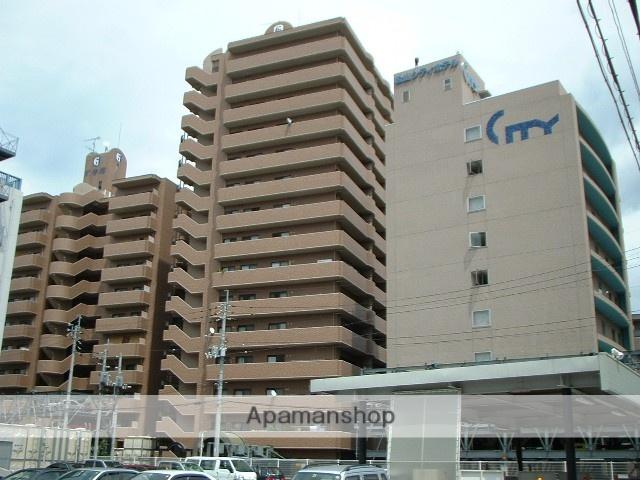 愛媛県松山市、大手町駅徒歩2分の築21年 15階建の賃貸マンション