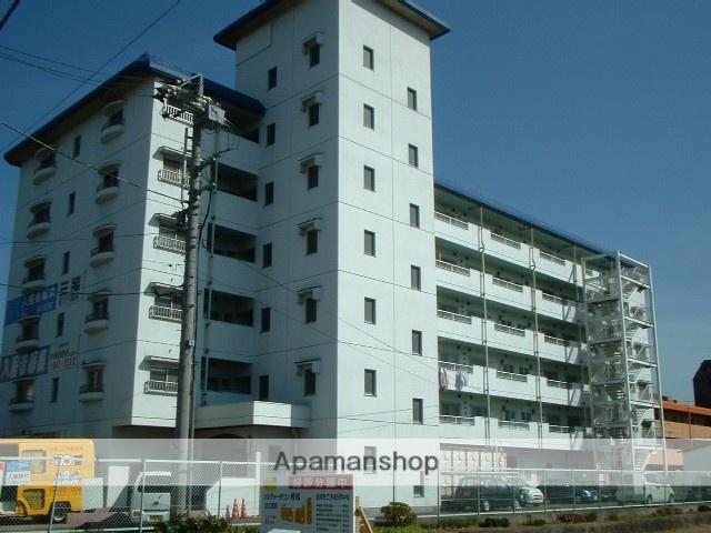 愛媛県松山市、いよ立花駅徒歩16分の築33年 6階建の賃貸マンション
